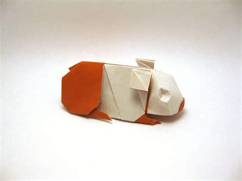 Origami Guinea Pig - orimin mindaugas cesnavicius deviantart