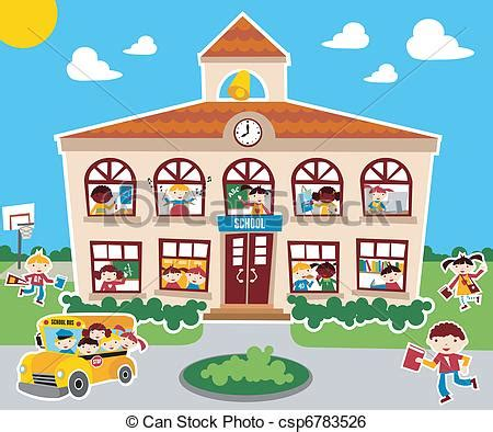 Little House Plans Free clip art vector of back to school time time to go back