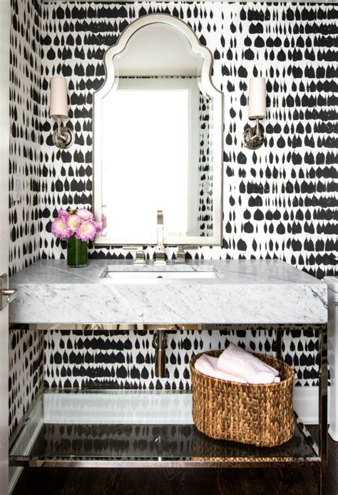 powder room wallpaper unique powder rooms to inspire your next remodeling