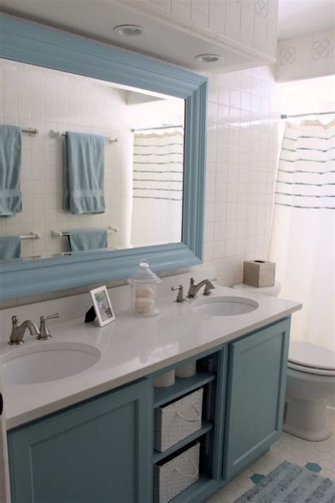 blue bathroom furniture aesthetic bathroom vanities and mirror combinations with