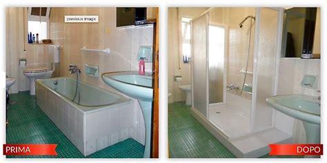 modifica vasca da bagno in doccia trasformazione da vasca a doccia idee ristrutturazione bagni