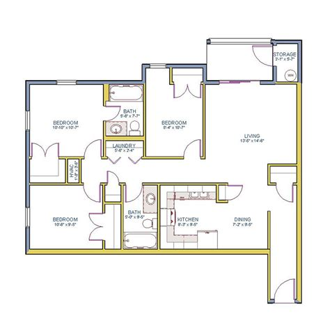 100 square feet bedroom design 100 floor plans 1000 square feet 3 bedroom house