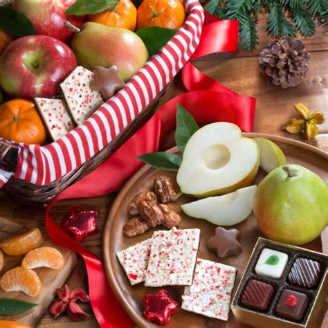 golden state fruit rustic treasures holiday christmas gift basket treasures fruit and gourmet basket aa4050 a gift inside