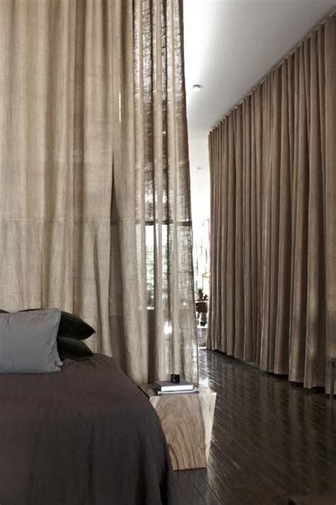 curtain divider for bedroom how to achieve the perfect blueprint for your open concept home kukun