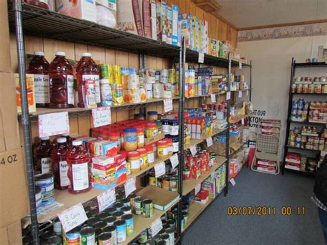 Open Food Pantry by Blank