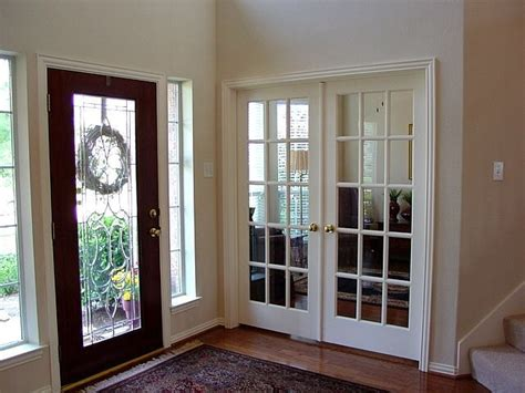 turn  formal living   study  french doors