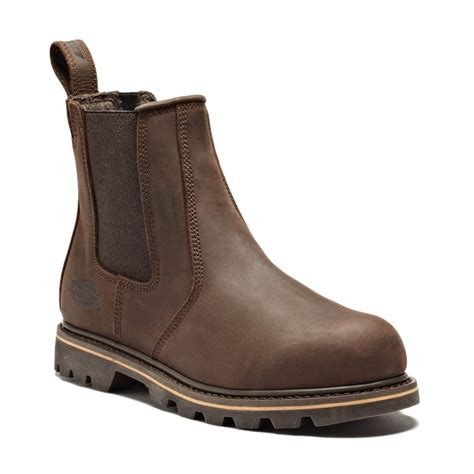 Sepatu Murah Timberland Stallion High Safety Boots dickies brown leather mens fife safety dealer work boots