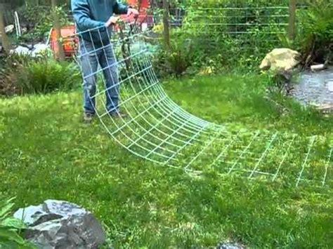 Pole Trellis Raised Bed Vertical Garden 2 Bending Livestock Panels