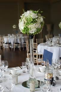 blue vases wedding vases