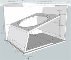 Music System Cabinet Designs Subwoofer Box Plan Woodworking Design And Plans