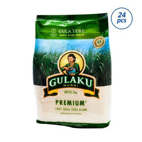 Gula Pasir Gulaku Hijau 1 Kg jual gulaku premium gula pasir 24 packs 1 kg