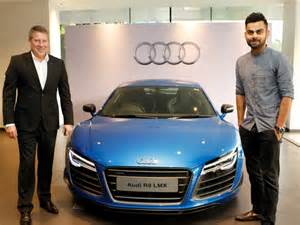 kohli owns audi r8 lmx second indian to acquire the