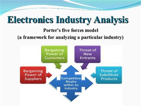 electronics industry analysis sony