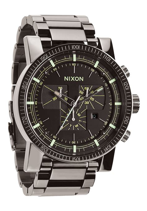 Nixon Diesel 2 nixon the magnacon ss ii polished gunmetal lum nur 395 00