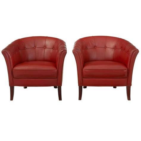 Leather Club Armchairs by Pair Of 1970s Leather Club Armchairs For Sale At 1stdibs