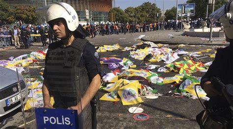 turkey train station bombings kill dozens in ankara cnncom twin blasts at ankara peace rally kill 95 injure hundreds