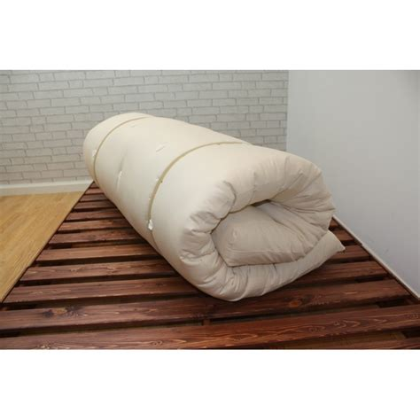 rolling futon futon bed roll up mattress japanese style