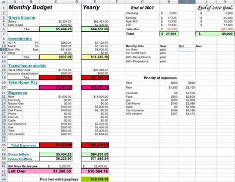ninja budget married edition punch debt   face