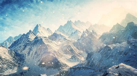 snowy mountains wallpapers wallpaper cave