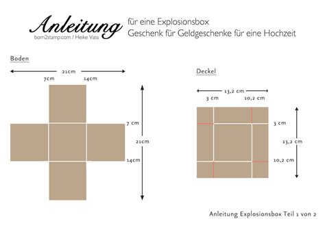 8x8 card box template explosionsbox zur hochzeit exploding boxes box and cards