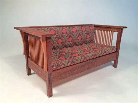 what is couch in spanish mission couch sofa 1 inch scale miniature walnut by