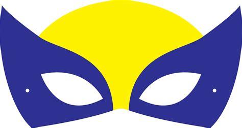printable wolverine mask printable halloween masks
