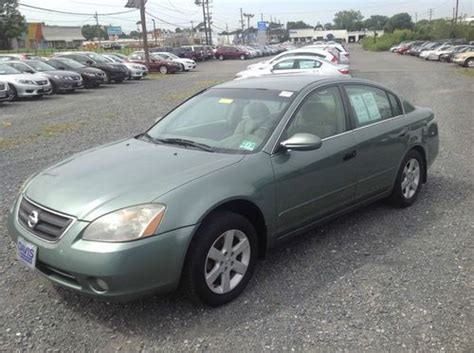 Nissan Altima Gas Mileage by Sell Used 2003 Nissan Altima 2 5 S Manuel Transmission