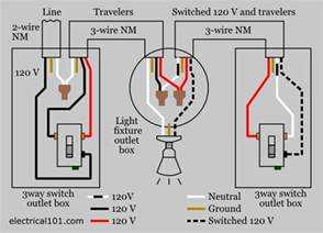 three way switch diagram lights within wiring techunick biz