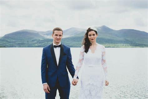 Vintage Irish Wedding at The Europe Hotel   Junebug Weddings