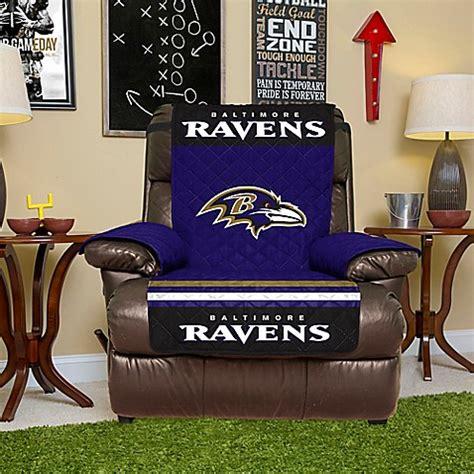 ravens recliner nfl baltimore ravens recliner cover bed bath beyond