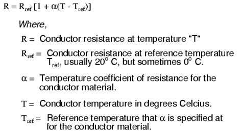temperature coefficient of resistors temperature coefficient of resistance physics of conductors and insulators electronics textbook