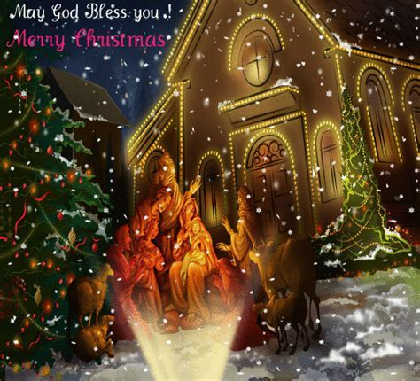 Blessings & Love Of Christmas For You. Free Religious