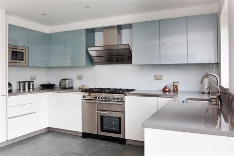 silestone grey expo kitchen contemporary with white