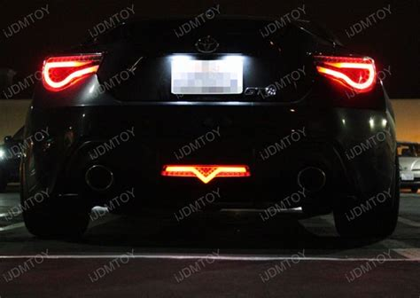 subaru brz tail lights scion fr s subaru brz led rear bumper light backup brake