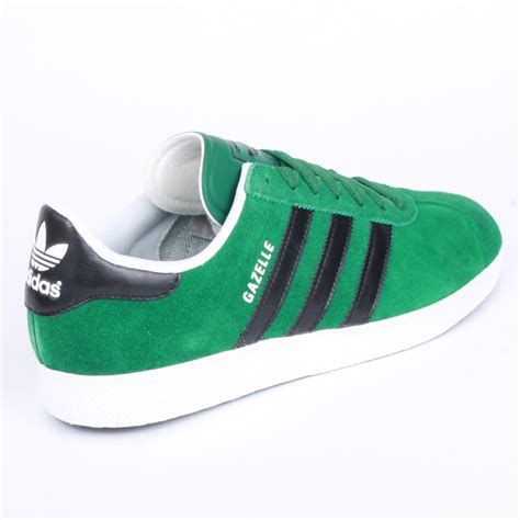 Adidas Green adidas gazelle 2 mens trainers in green black