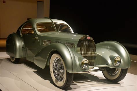 rolling sculpture deco car exhibit auto trends magazine