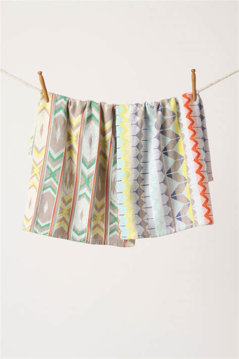 Kitchen Towels Anthropologie Cutest Kitchen Towels Fabric Tips Its Overflowing