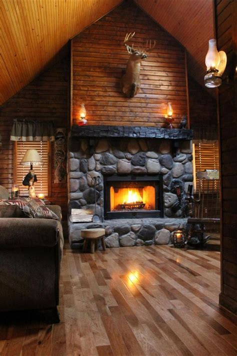 Log Home Interiors 50 Log Cabin Interior Design Ideas Cabin