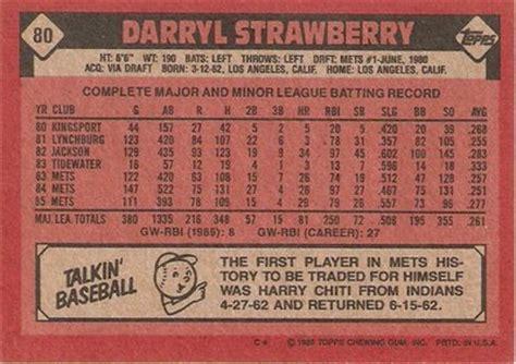 baseball card statistics template the world s catalog of ideas