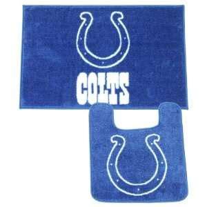 colts bathroom set 4 piece bath rug set blue dolphin bathroom rugs with