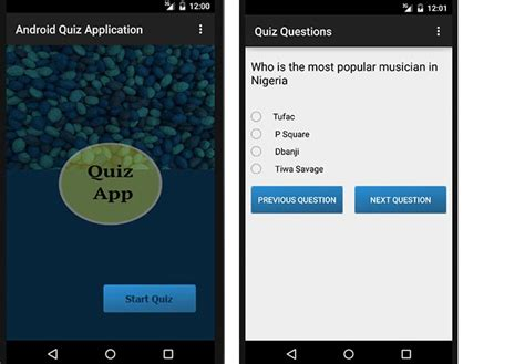 making quiz php android quiz application with json parser php and mysql
