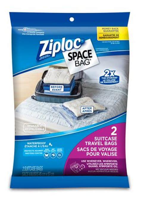 ziploc 174 brand space bag 174 travel 2ct walmart ca