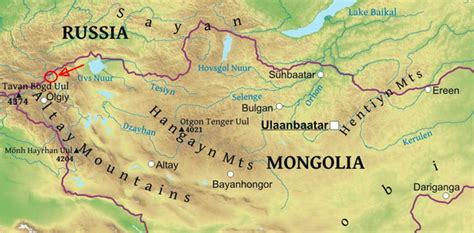 themes of geography mongolia mongolia snow leopard