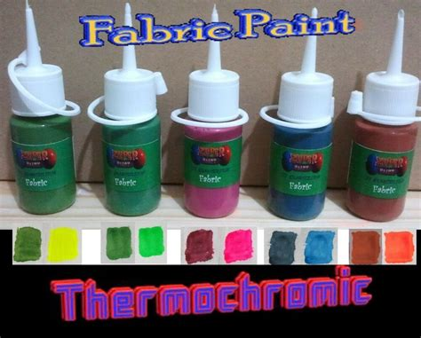 color changing spray paint heat reactive colour change thermochromic fabric paint