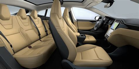 Tesla Rear Seats Tesla Model S Sport Seats Revealed