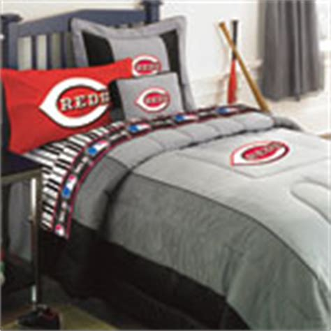 cincinnati reds mlb authentic team jersey bedding full