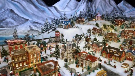 christmas eve wallpaper hd wallpaper snow house new year christmas village