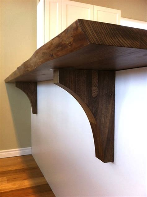 Wood Corbels Toronto 10 Best Live Edge Wood Countertop Ideas Images On