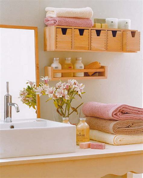 Tiny Bathroom Storage Ideas by 33 Clever Stylish Bathroom Storage Ideas