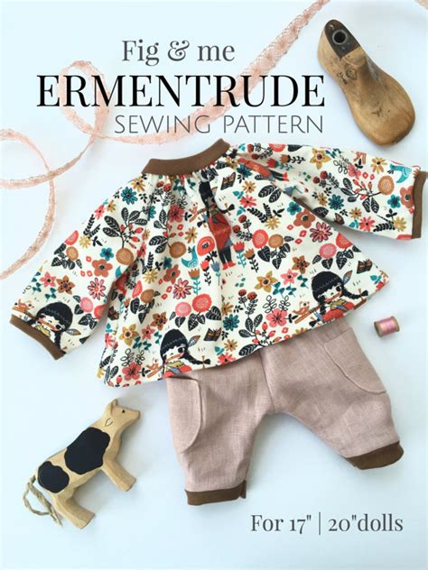 pattern dolls clothes sew doll clothing sewing pattern diy doll clothes tutorial for